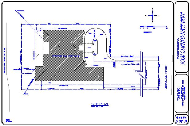 Draftsman For The Home Builder Drawing Samples